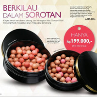 Giordani Gold Bronzing Pearls blush on oriflame