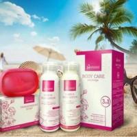 Paket HANASUI BODY CARE 3 in 1 Original Asli BPOM body whitening soap