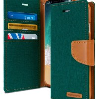 Mercury Canvas Diary Case for Samsung Galaxy J5 2017 - Green