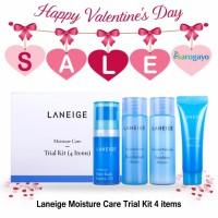 [sarogayo] READY STOCK Laneige Moisture Care Trial Kit (4 items)