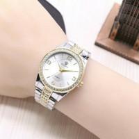 jam tangan wanita rolex semi ori / jtr 1172 kombinasi gold one'zhop