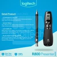 Logitech Professional Presenter R800 Garansi 1 Tahun