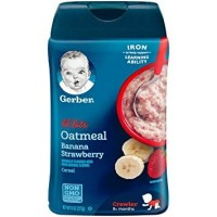 Gerber Lil Bits Oatmeal Banana Strawberry