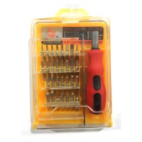 Obeng Pinset 32 in 1 / paket untuk service elektronik HP Laptop TV Co