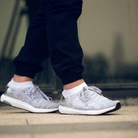 461ab94ab044f Sepatu Sneakers - Adidas Ultra Boost Uncaged White Silver - PRM