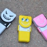 Kipas Angin Tangan Mini Fan Genggam Portable Handy Cooler Smile AC Air