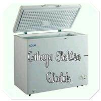 Free Ongkir Jakarta 200L Chest Freezer AQUA AQF200