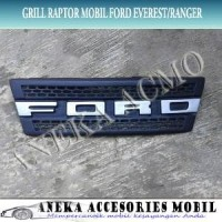 Grill Grille Raptor Variasi Fiber Mobil Ford Ranger 2010 terlaris st
