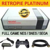 Retropie Platinum Mini PC Emulator Nintendo Sega PS dengan 2000+ Game