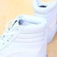 Sepatu Vans Sk 8  WHITE Premium Quality Diskon