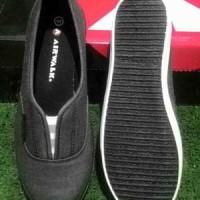 Sepatu AIRWALK ORIGINAL. BELCIA. Dark Grey. Slip on Diskon