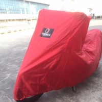 VESPA LX125 DURABLE Motor Cover Selimut Premium RED
