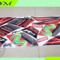 Striping Stiker Sticker list body yamaha r15 yzf-r15 yzf hitam 2016 m