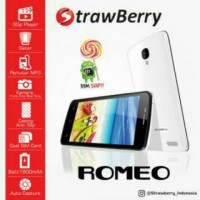 HP Android Handphone Murah STRAWBERRY S10 ROMEO 3G 4,5 '' bisa WA 2sim