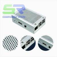 Metal Case Silver / Enclosure Raspberry Pi 3 / pI 2 Model B B+