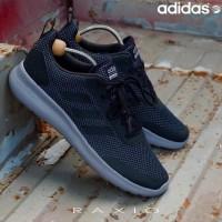 Sepatu Sneakers Lari Olahraga Adidas Ultimate Race Black Grey Original