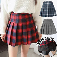 (#8801/8803/8805)Oh My Girl Skirt/High Waist Pleated Skirt/Rok Tennis