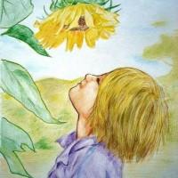 Gambar lukisan sketsa karikatur