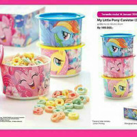 My litle pony canister tupperware