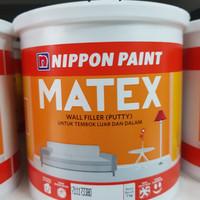DEMPUL PLAMIR MATEX by NIPPON PAINT 4 KG - WALL FILLER TEMBOK RETAK