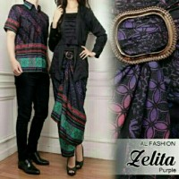 Batik Couple / Batik Zelita / Gamis / Baju Muslim / Dress