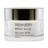 Wardah White Secret Day Cream Pelembab Wajah [30 Gr]