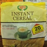 SUPER Instant Cereal / Sereal All in One