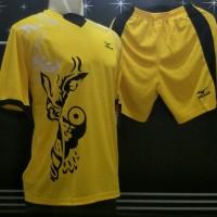 Kostum Volly Mizuno / Jersey Bola / Kaos Setelan Olahraga / Baju Voli