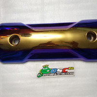 tameng zoomers model two tone blue gold