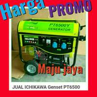 Harga PROMO Genset ICHIKAWA 5000 watt yamaha Firman honda ryu multipro