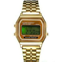 jam tangan led digital stopwatch sporty untuk pria wanita