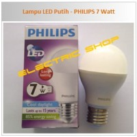 Lampu LED Putih - PHILIPS 7 Watt