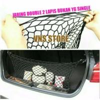 Harga jaring cargo net simpan barang di mobil jaring double hook | Pembandingharga.com