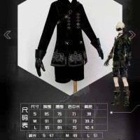 Uwowo Nier Automata 9S Costume Cosplay