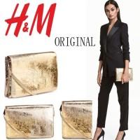 [Ichi Shop] Realpic Tas original HM #H1720 two pockets import ori h&m