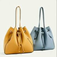 [Ichi Shop] Promo tas Zara #Z8849 serut original tote bag