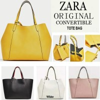 [Ichi Shop] PROMO TAS ZARA ORI REVERSIBLE TOTE BAG ORIGINAL TAS ZARA
