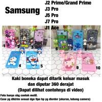 Softcase 3D boneka standing Samsung J1 Ace J2 prime J3 J5 J7 pro