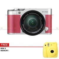PROMO - Fujifilm X-A3 Kit 16-50mm Lens (Pink) Mirrorless Kamera