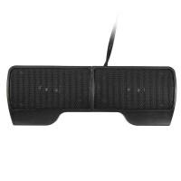 Speaker Stereo Mini Clip On Portable-Hitam