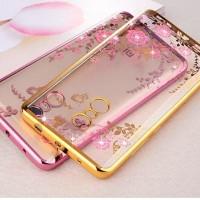 SOFT CASE DIAMOND Xiaomi Redmi 5 - 5 Plus casing hp cover flower bunga
