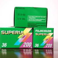 FujiColor Superia 200 Color Film 35mm