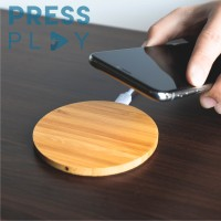 Wireless Charger Qi Wood Charging For IPhone X 8 8Plus Samsung S6 S7 S