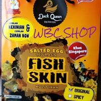 SALTED EGG FISH SKIN - DUCK QUEEN