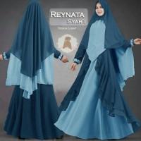 Baju Pengantin Muslimah 119644 GAMIS SYARI JUMBO REYNATA TOSCA LIGHT