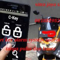 alarm motor nmax pakai hp android + panduan langsung