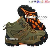 SNTA 481 Sepatu Gunung / Sepatu Hiking / Sepatu Outdoor Beige Brown