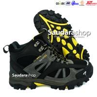 SNTA 481 Sepatu Gunung / Sepatu Hiking / Sepatu Outdoor Black Grey