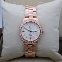 Jam Tangan Alexandre Christie AC  Rose Gold Ladies Original