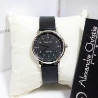Alexandre Christie AC 8470 Silver Black Ladies Original